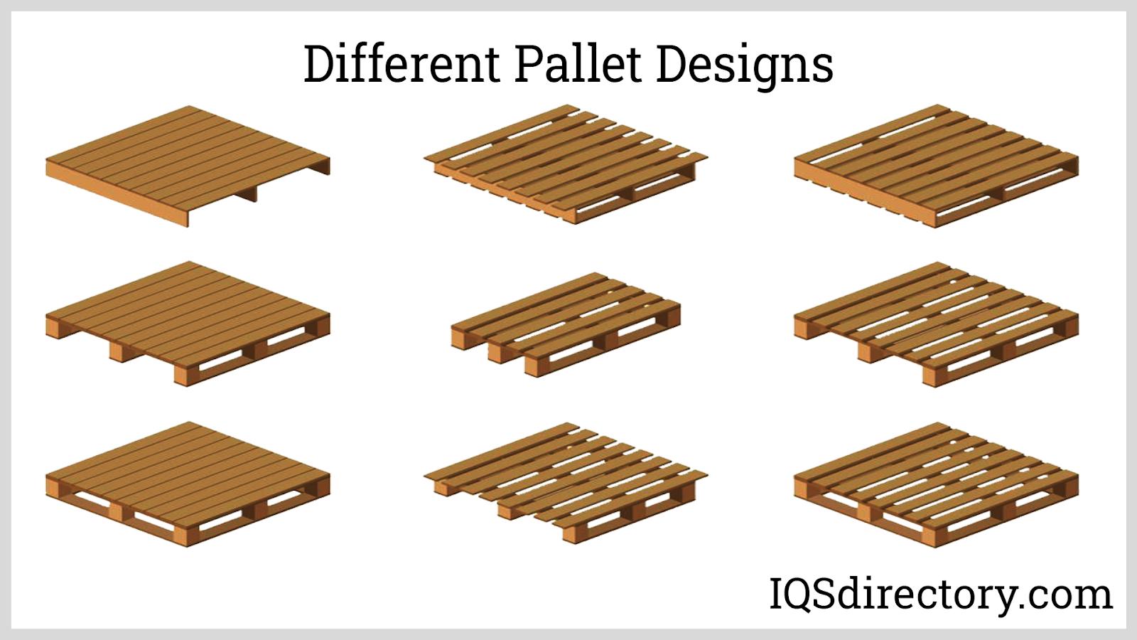 Different Pallet Designs
