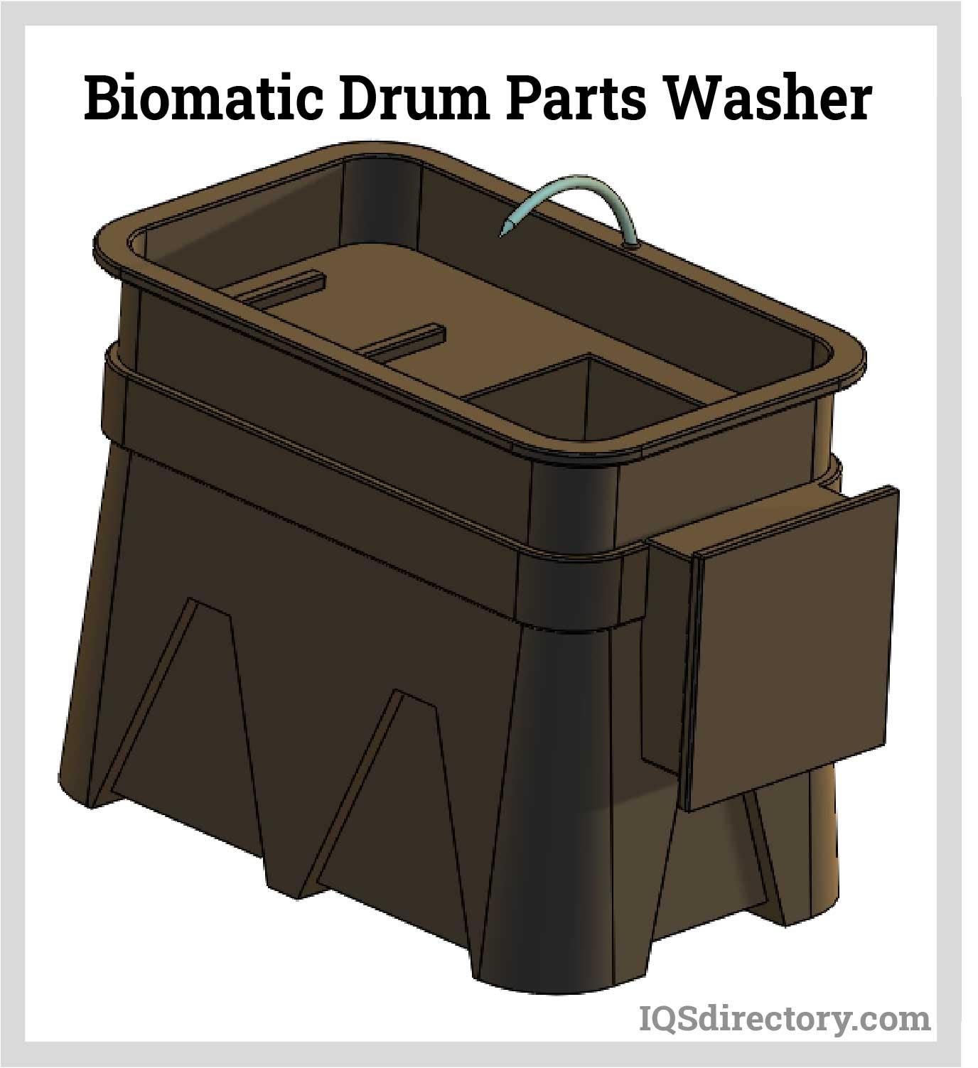 Biomatic Drum Parts Washer