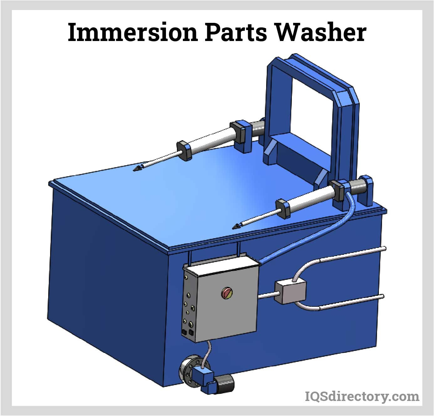 Immersion Parts Washer
