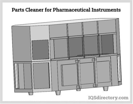 Parts Cleaner for Pharmaceutical Instruments