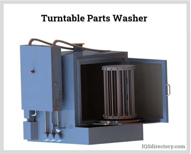 Turntable Parts Washer