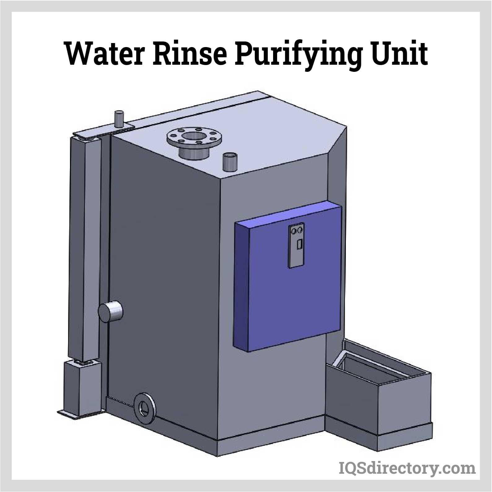 Water Rinse Purifying Unit