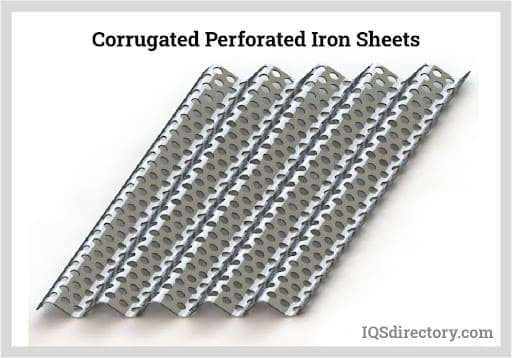 Corrugated Perforated Iron Sheets