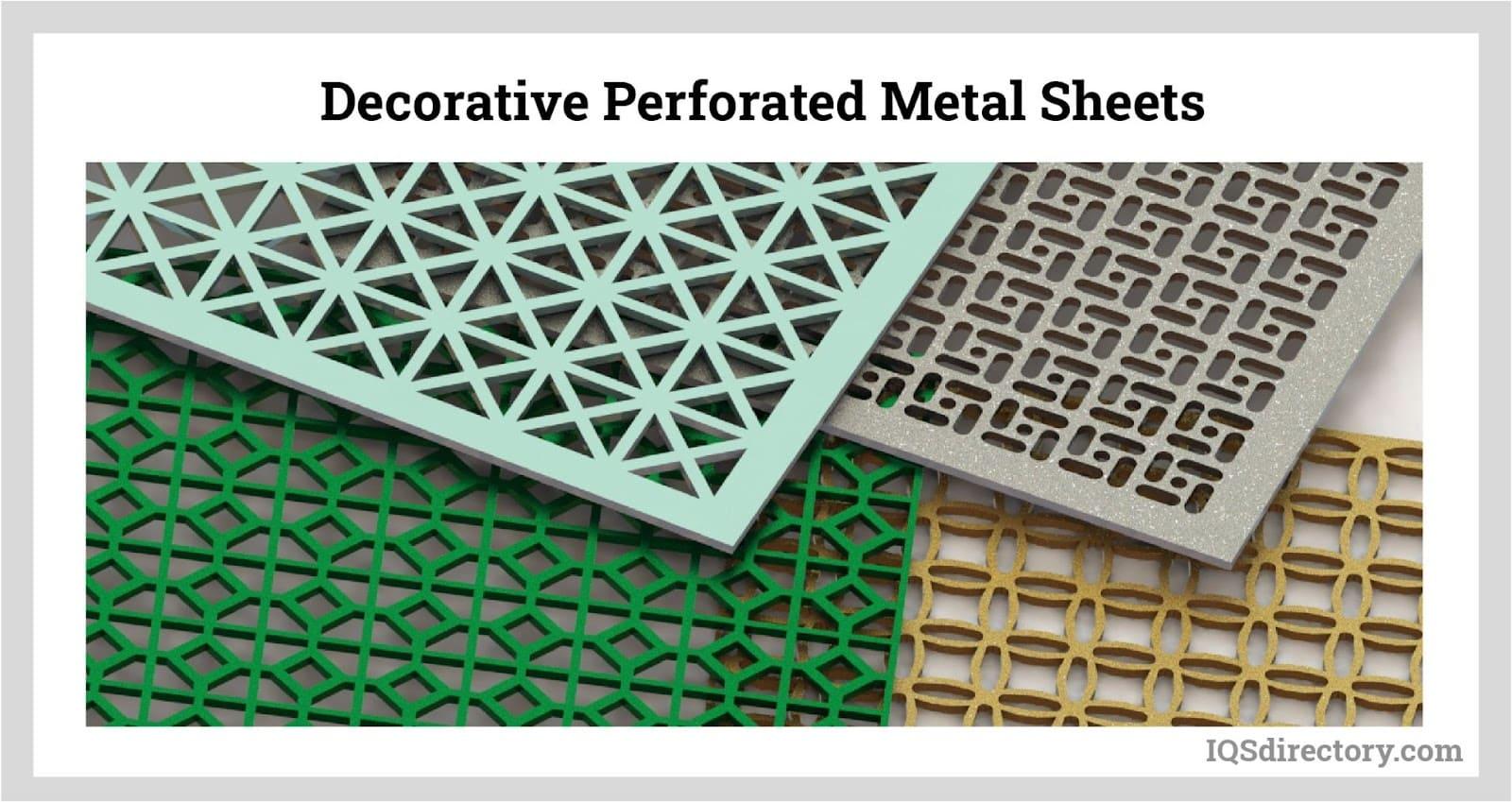 Decorative Perforated Metal Sheets