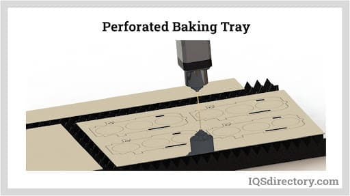 Perforated Baking Tray Laser