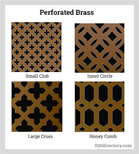 Perforated Brass