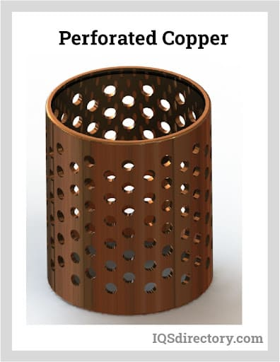 Perforated Copper