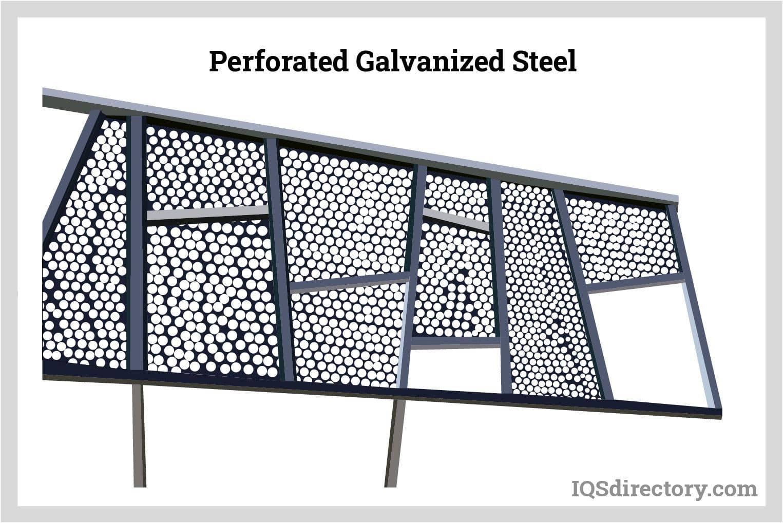 Perforated Galvanized Steel