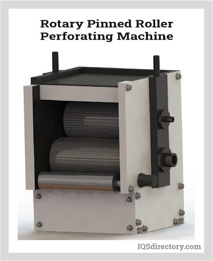 Rotary Pinned Roller Perforating Machine