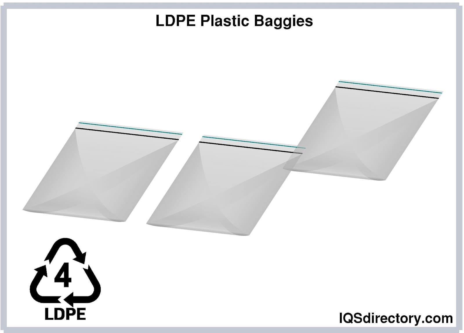 LDPE Plastic Baggies