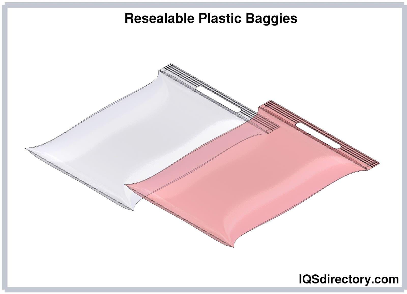 Resealable Plastic Baggies