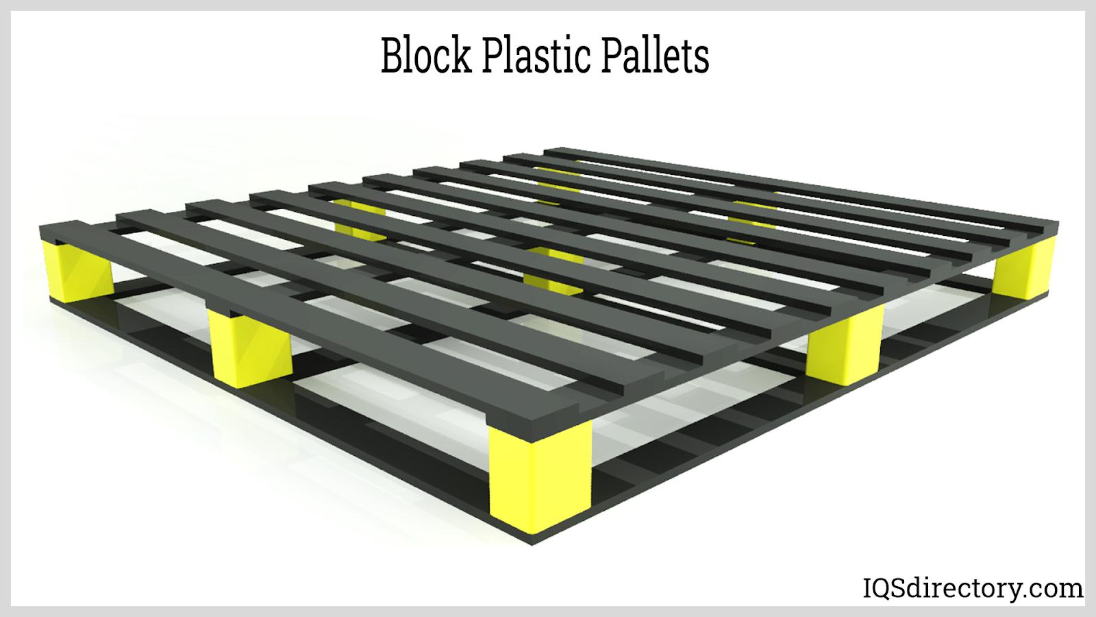 Block Plastic Pallets