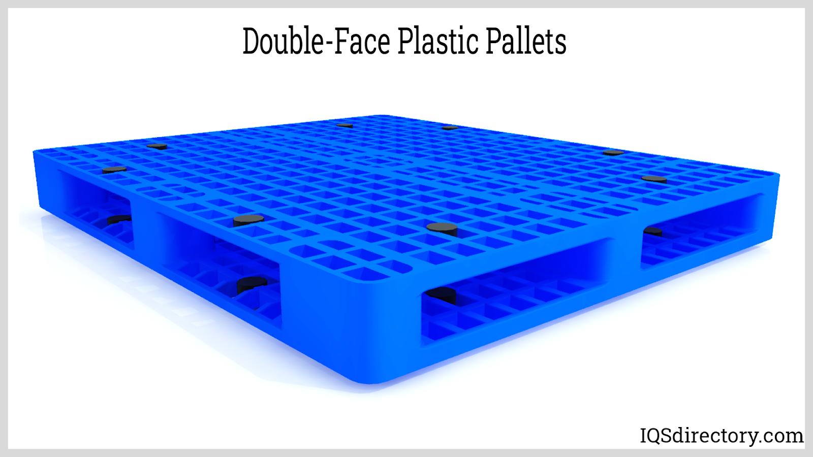 Double-Face Plastic Pallets