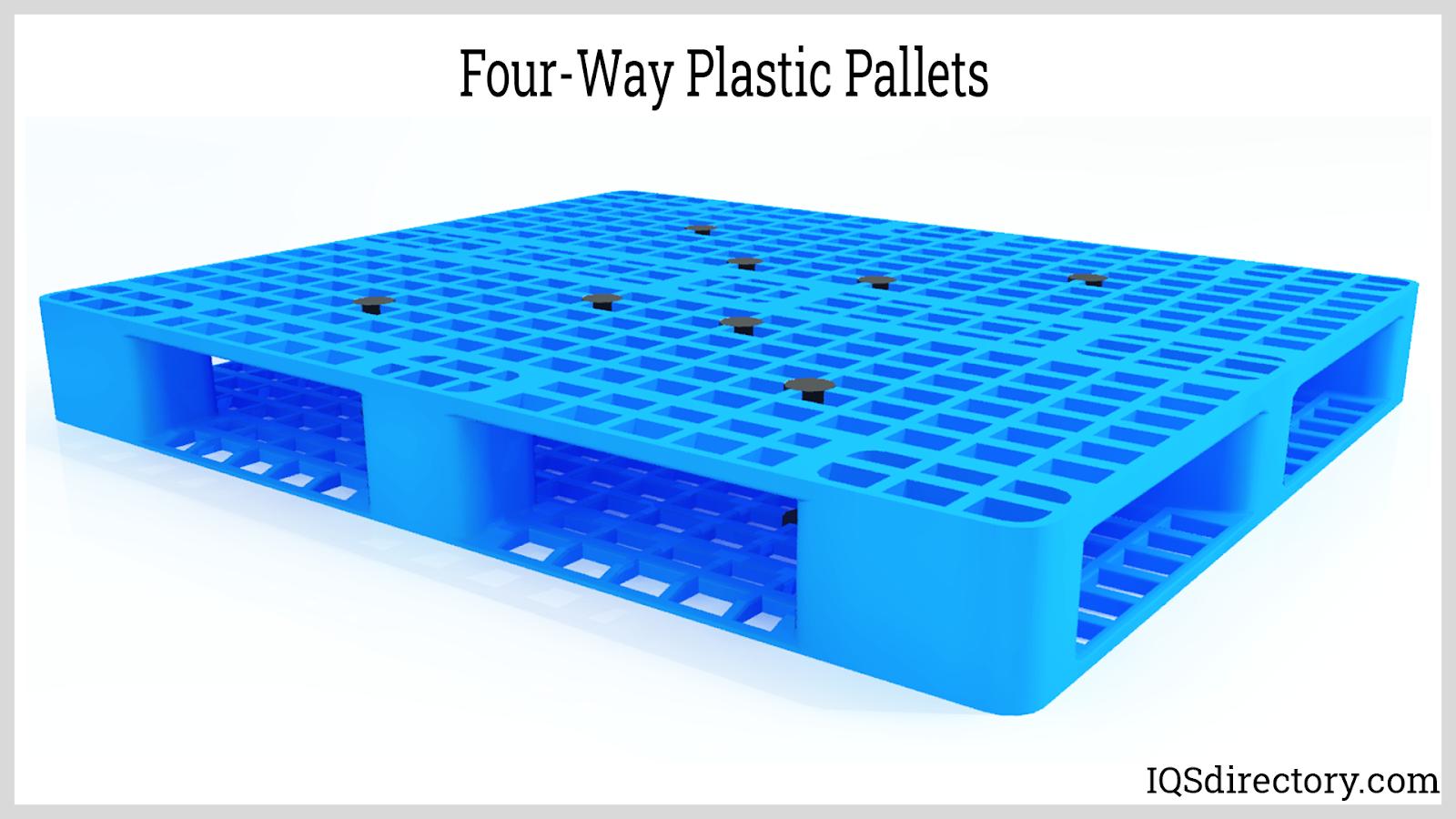 Four-Way Plastic Pallets