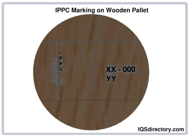 IPPC Marking on Wooden Pallet