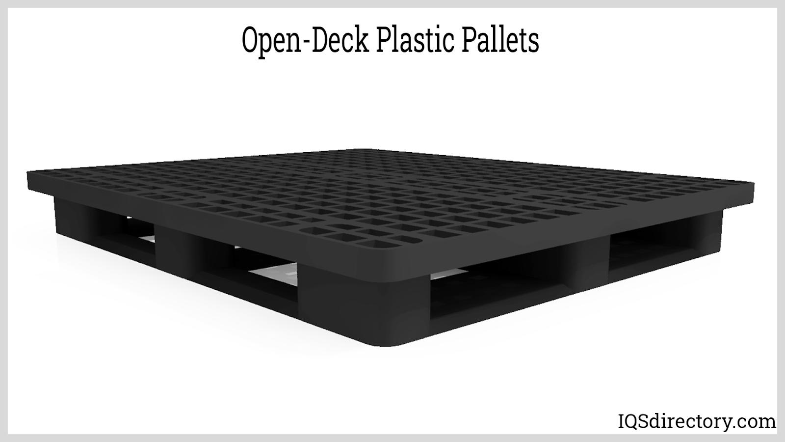 Open-Deck Plastic Pallets