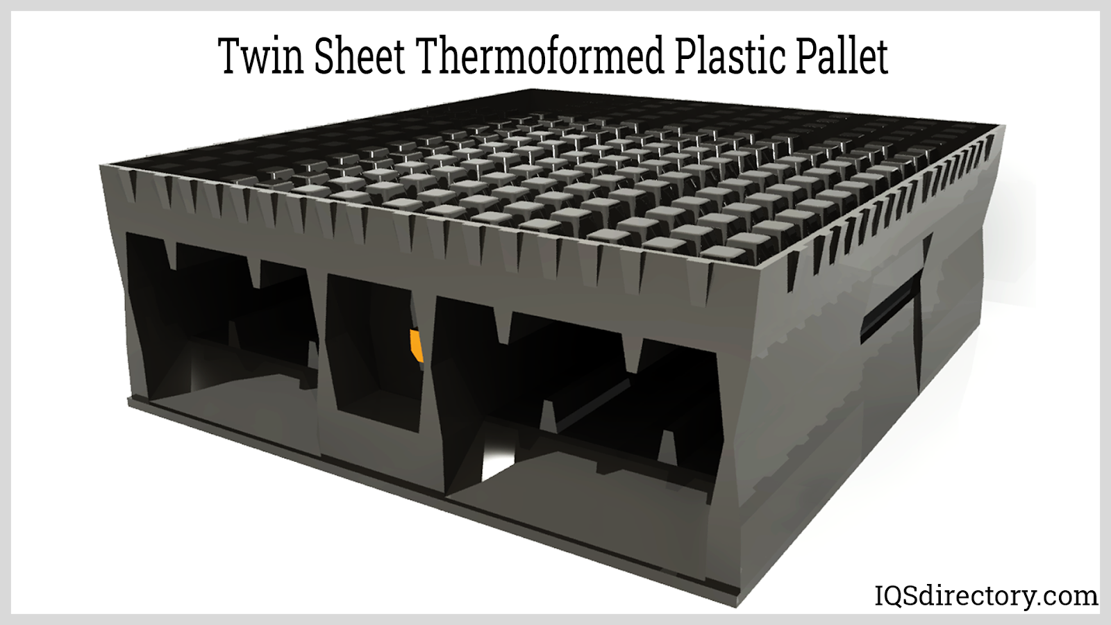 Twin Sheet Thermoformed Plastic Pallet