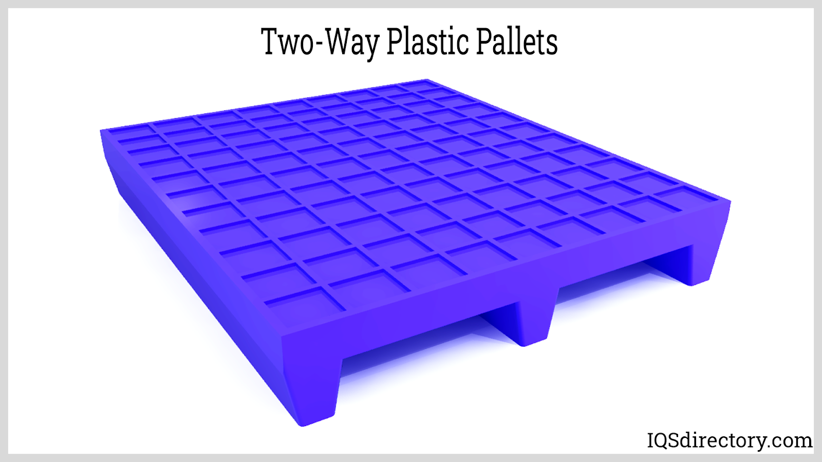 Two-Way Plastic Pallets
