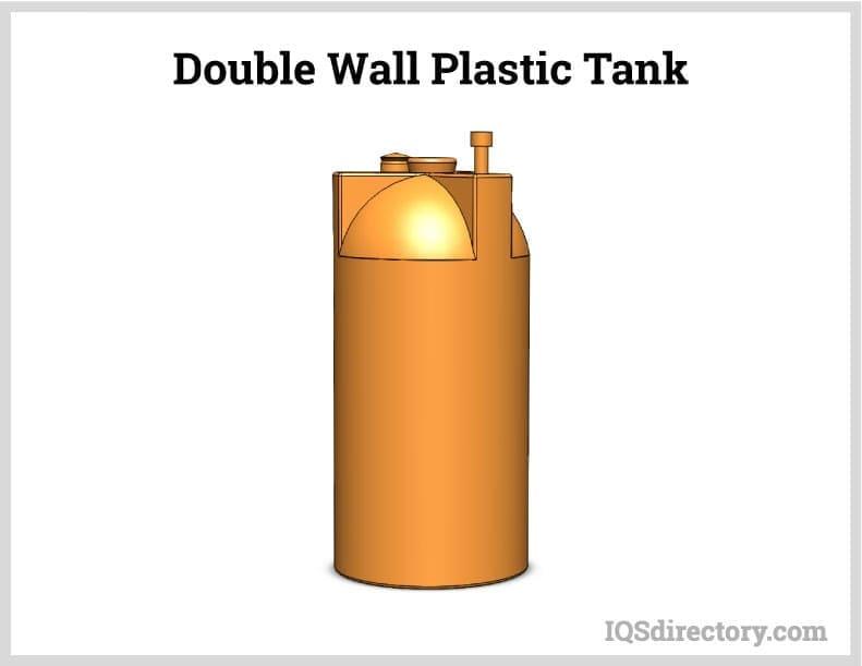 Double Wall Plastic Tank
