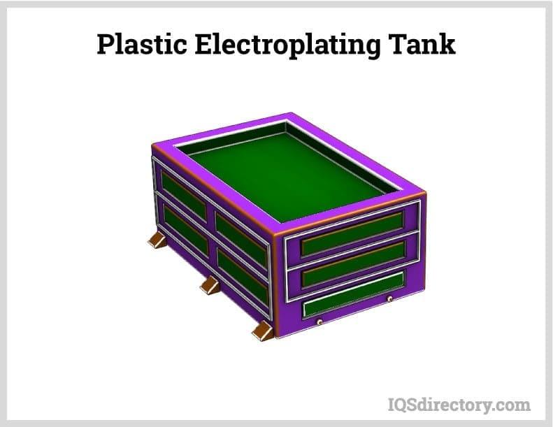 Plastic Electroplating Tank