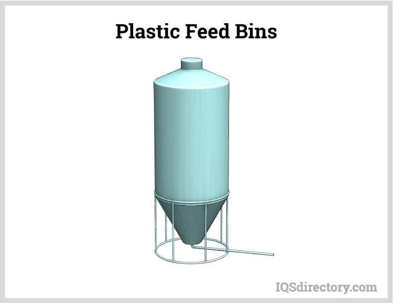 Plastic Feed Bins