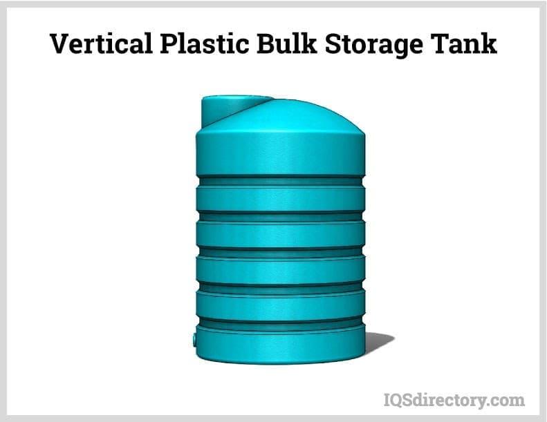 Vertical Plastic Bulk Storage Tank