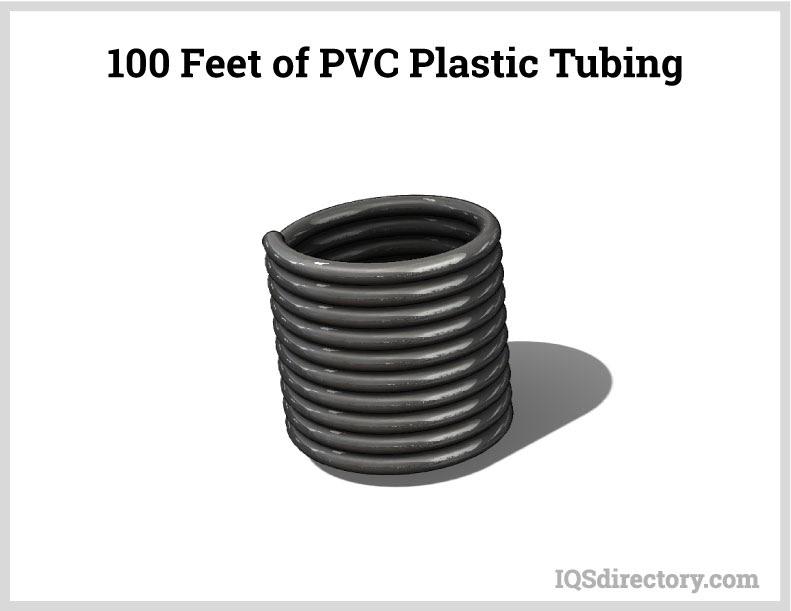 100 Feet of PVC Plastic Tubing