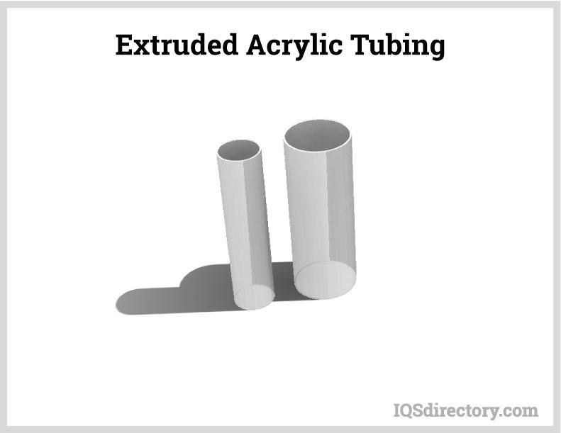 Extruded Acrylic Tubing