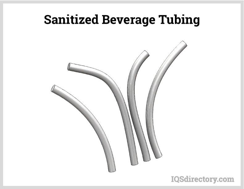 Sanitized Beverage Tubing