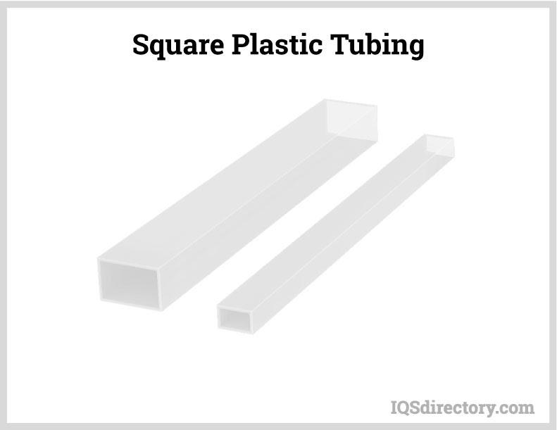 Square Plastic Tubing
