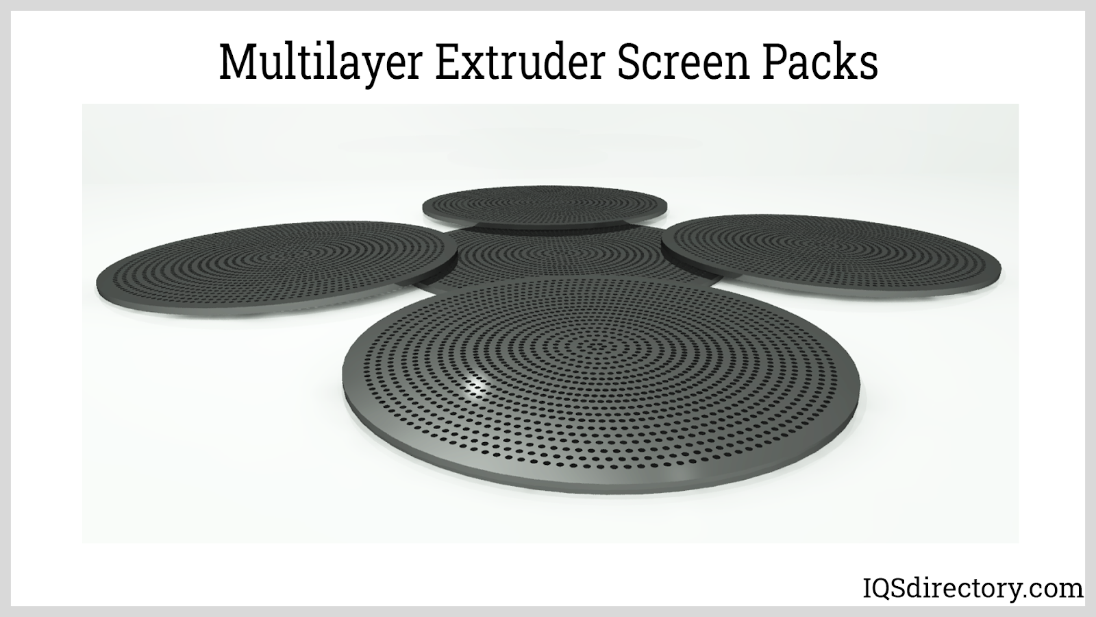 Multilayer Extruder Screen Packs