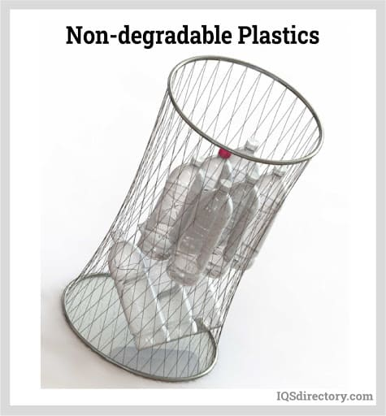 Non-degradable Plastics
