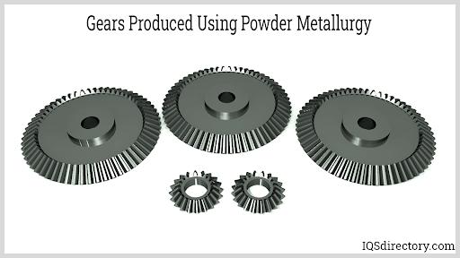 Gears Produced Using Powder Metallurgy