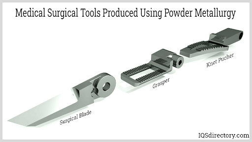 Medical Surgical Tools Produced Using Powder Metallurgy