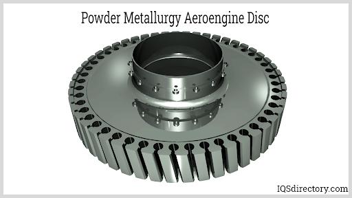 Powder Metallurgy Aeroengine Disc