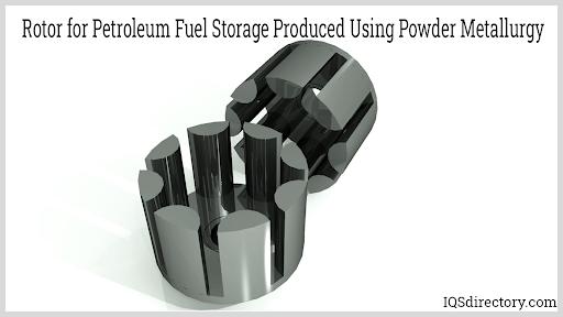 Rotor for Petroleum Fuel Storage Produced Using Powder Metallurgy