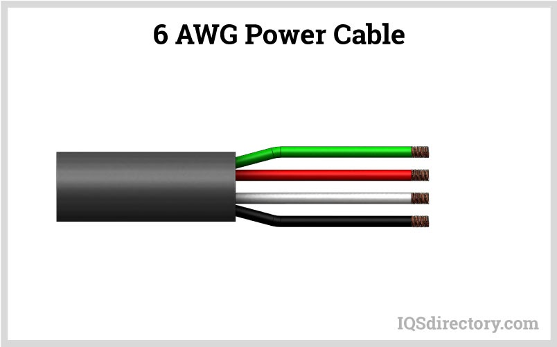 6 AWG Power Cable
