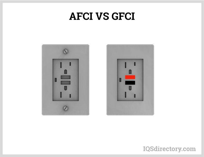 AFCI vs. GFCI