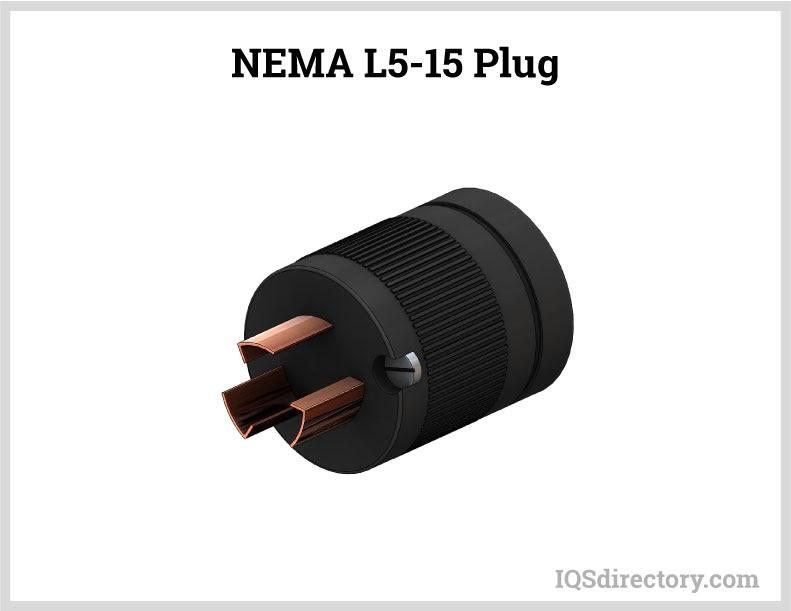 NEMA L5-15 Plug