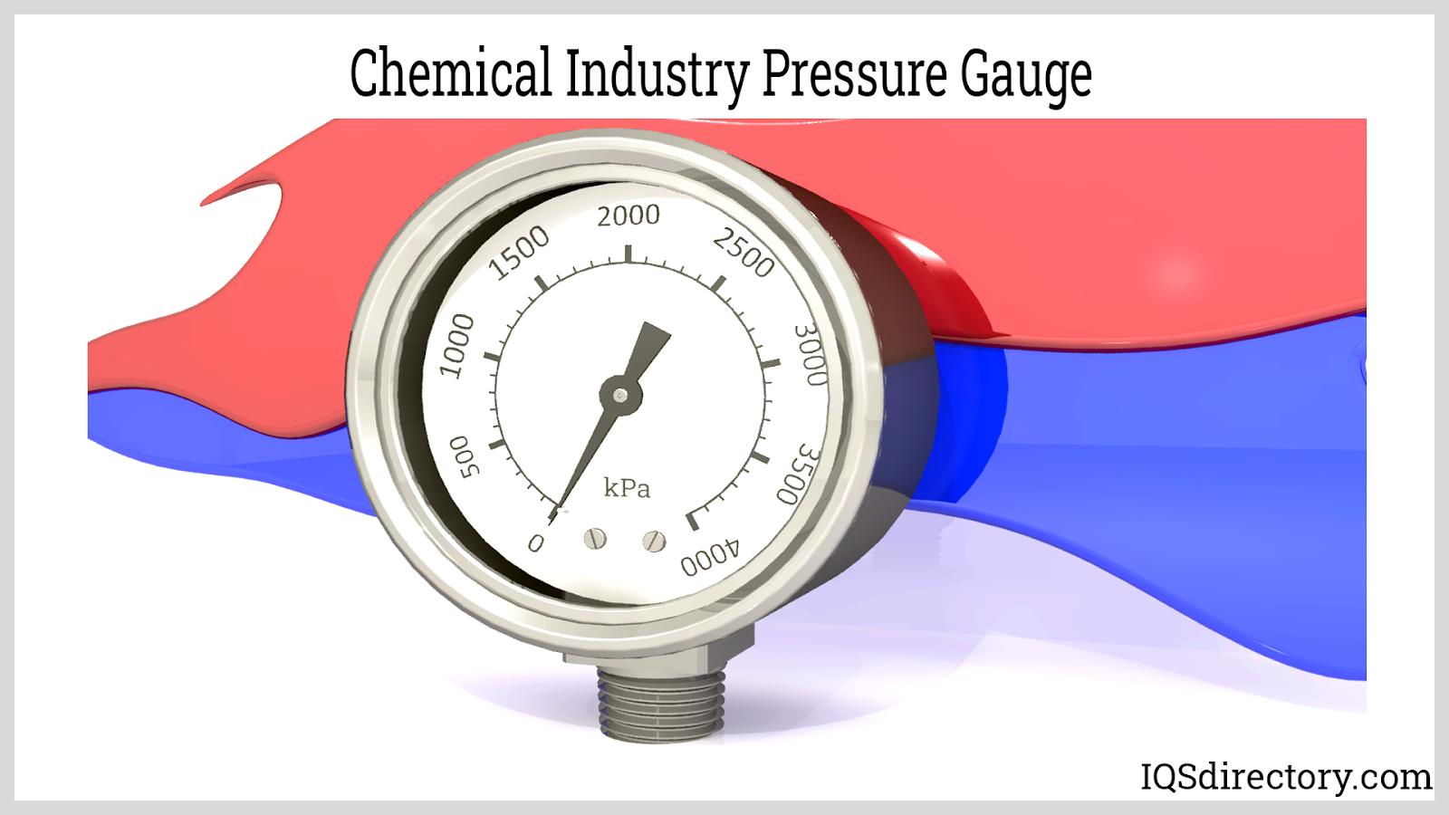 Chemical Industry Pressure Gauge