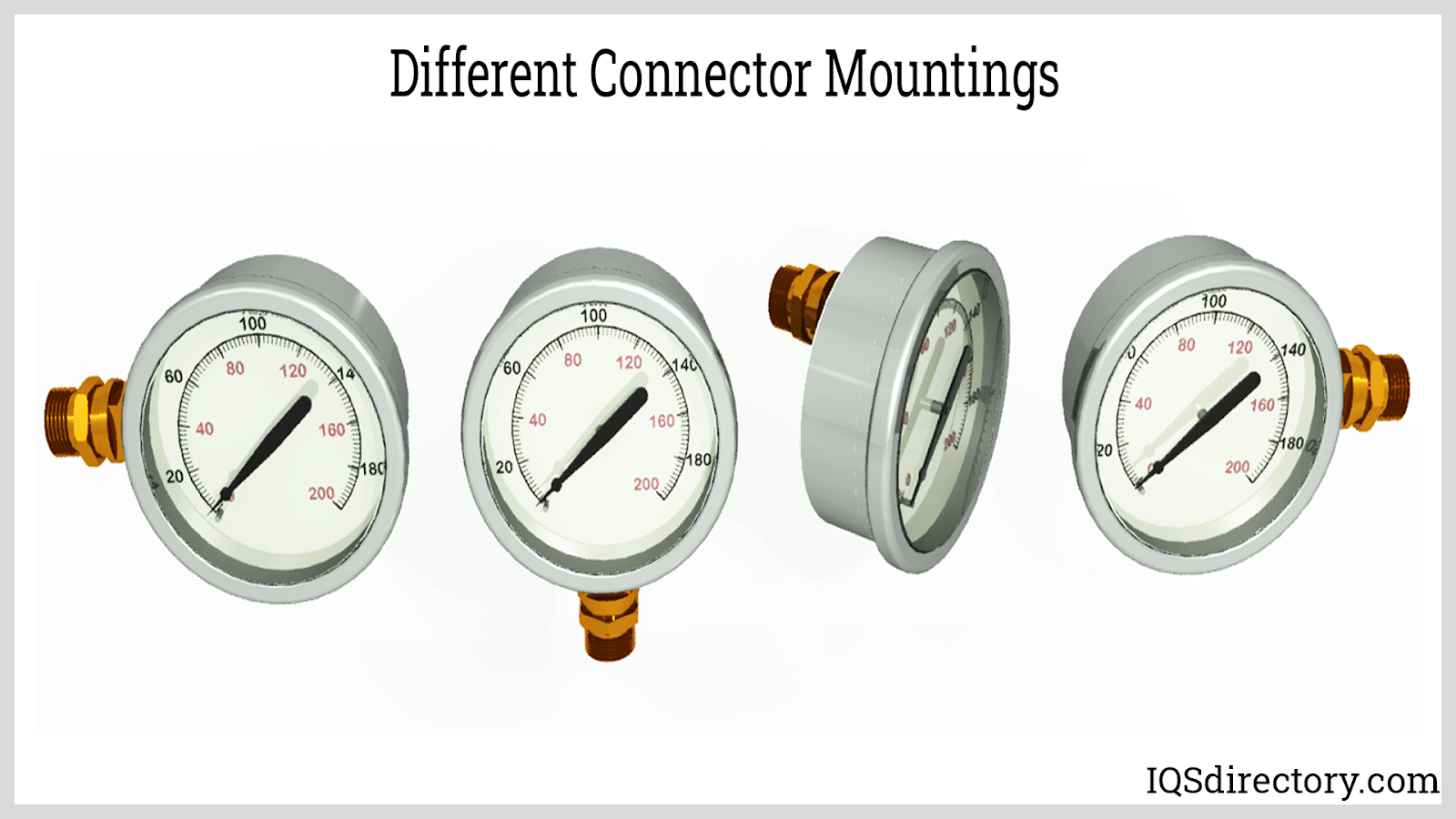 Different Connector Mountings