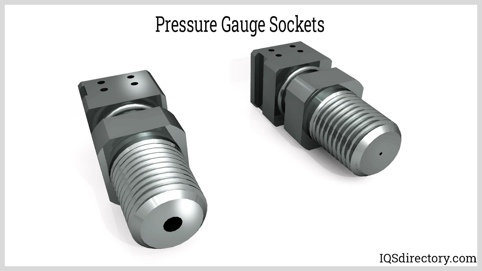 Pressure Gauge Sockets
