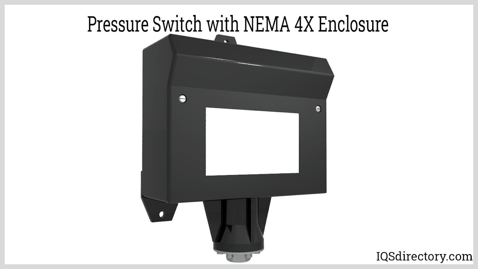 Pressure Switch with NEMA 4X Enclosure