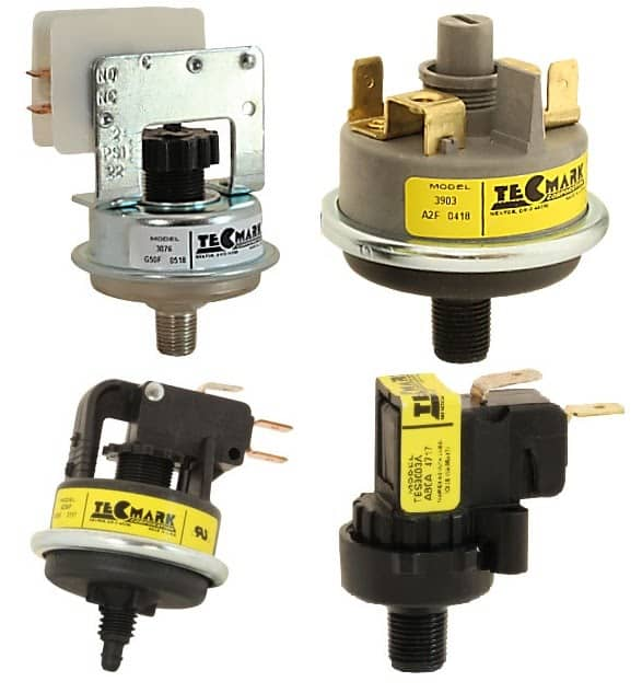 Pressure Switches from Tecmark Corporation