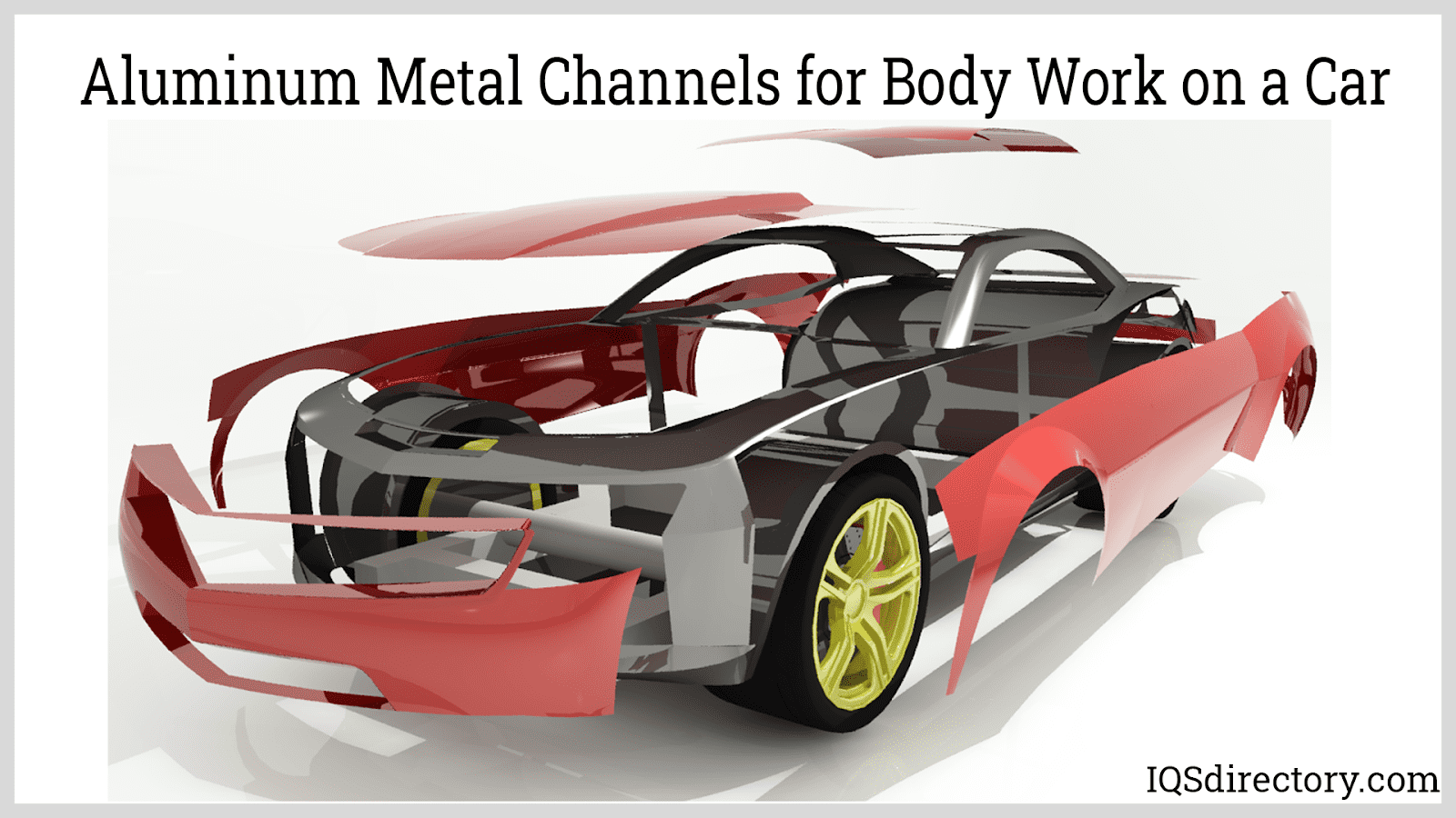 Aluminum Metal Channels for Body Work on a Car