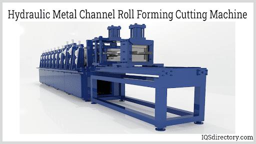 Hydraulic Metal Channel Roll Forming Cutting Machine