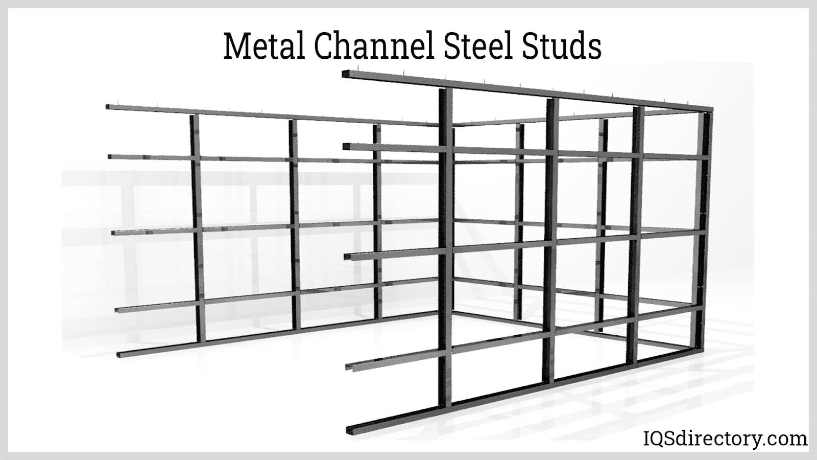 Metal Channel Steel Studs