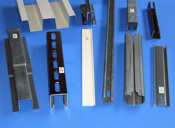 Metal Channels from MP Metals