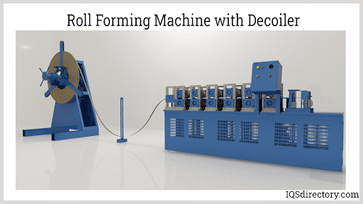 Roll Forming Machine with Decoiler