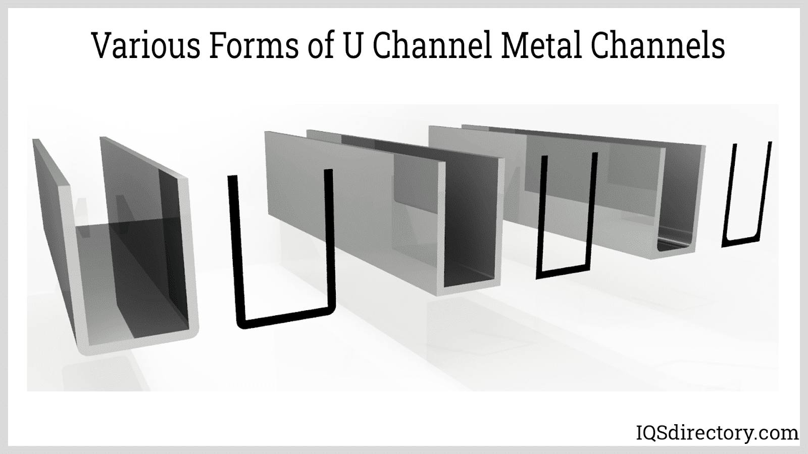 Various Forms of U Channel Metal Channels